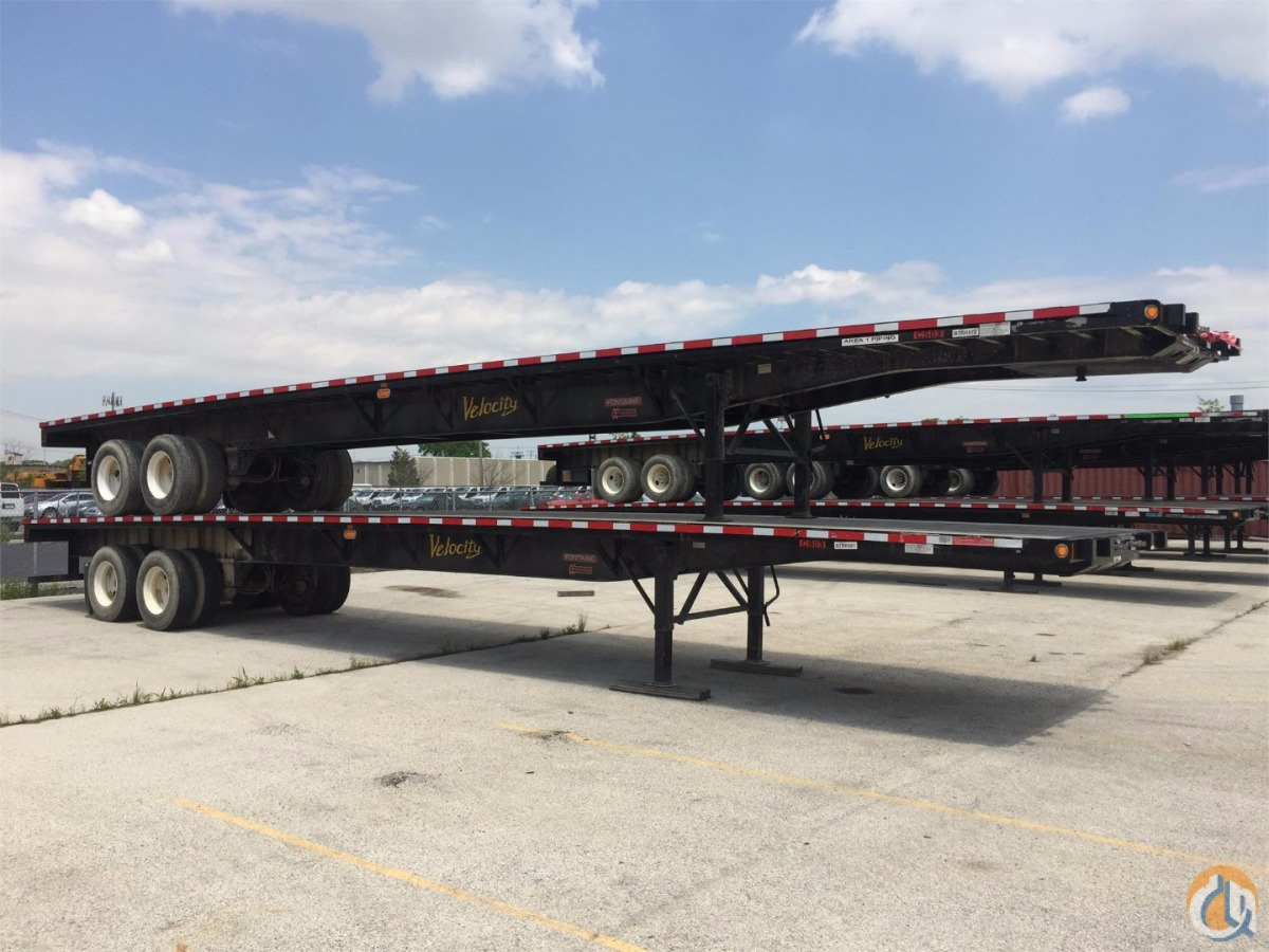 2016 Fontaine Flatbed Trailer Flatbed Trucks  Trailer FONTAINE Fontaine Crane amp Machinery Inc. 18899 on CraneNetwork.com